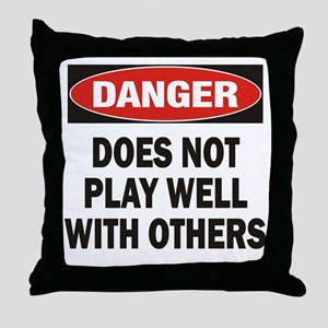 Play Well Throw Pillow
