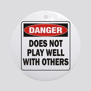 Play Well Ornament (Round)