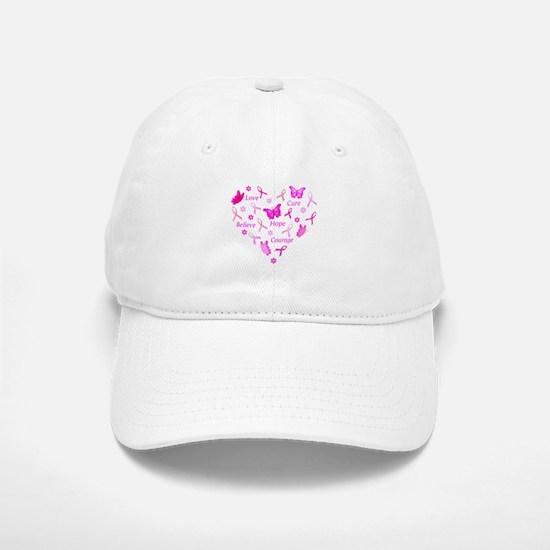 Go Pink Baseball Baseball Cap