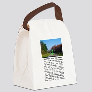 to your leader Canvas Lunch Bag