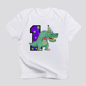 1st Birthday T-Rex Infant T-Shirt