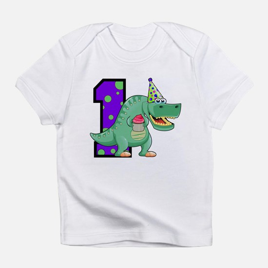 1st Birthday T-Rex Infant T-Shirt