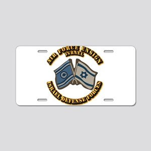 Air-Force-Ensign Aluminum License Plate