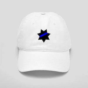 Blue Line Badge 4 Cap