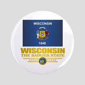 "Wisconsin (v15) 3.5"" Button"