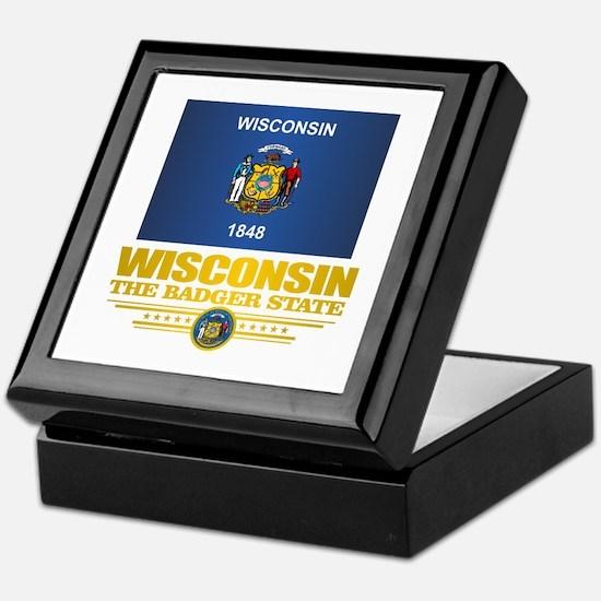 Wisconsin (v15) Keepsake Box