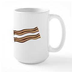 Christmas Bacon Large Mug