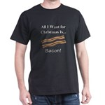 Christmas Bacon Dark T-Shirt