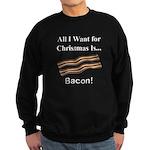 Christmas Bacon Sweatshirt (dark)