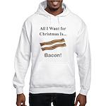 Christmas Bacon Hooded Sweatshirt