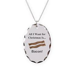 Christmas Bacon Necklace