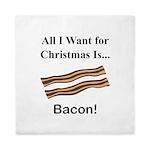 Christmas Bacon Queen Duvet
