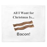 Christmas Bacon King Duvet