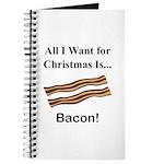 Christmas Bacon Journal