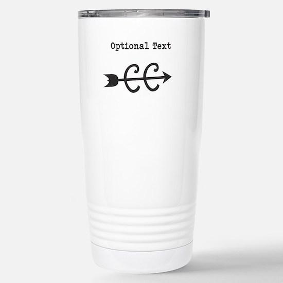 Custom Cross Country Stainless Steel Travel Mug