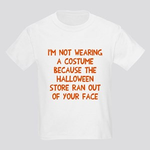 Halloween store face Kids Light T-Shirt