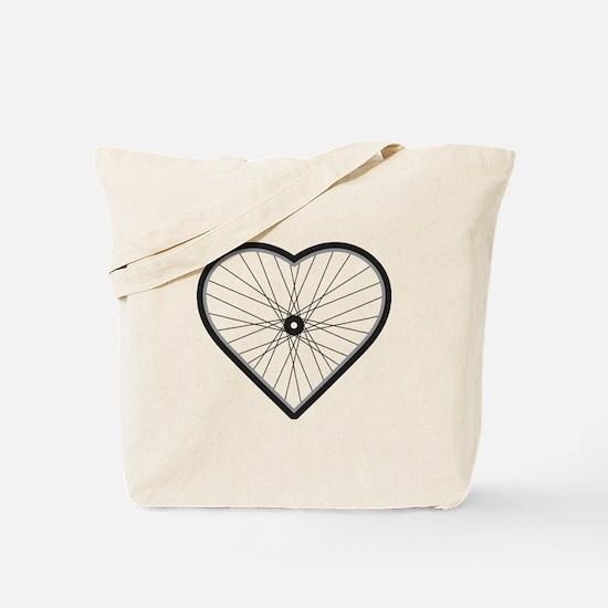 Love Road Cycling Tote Bag