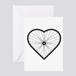 Love Road Cycling Greeting Card