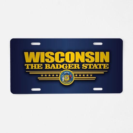 Wisconsin (v15) Aluminum License Plate