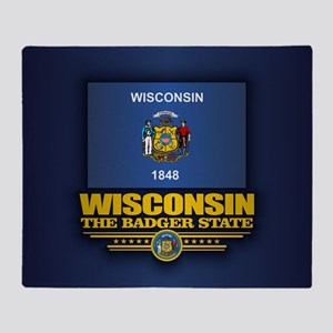 Wisconsin (v15) Throw Blanket