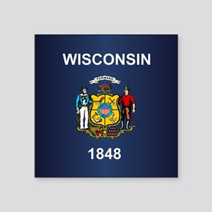 Wisconsin (v15b) Sticker