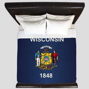 Wisconsin (v15b) King Duvet