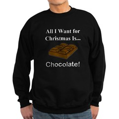 Christmas Chocolate Sweatshirt (dark)