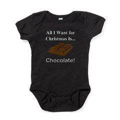 Christmas Chocolate Baby Bodysuit