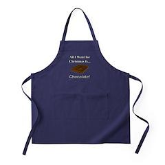 Christmas Chocolate Apron (dark)