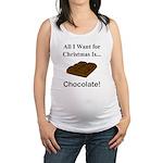 Christmas Chocolate Maternity Tank Top