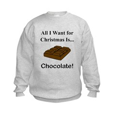 Christmas Chocolate Sweatshirt