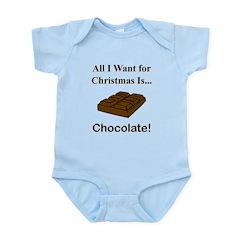 Christmas Chocolate Infant Bodysuit