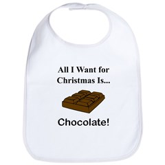 Christmas Chocolate Bib