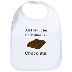 Christmas Chocolate Bib