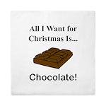 Christmas Chocolate Queen Duvet