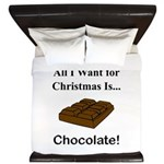 Christmas Chocolate King Duvet
