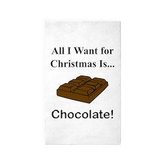Christmas Chocolate 3'x5' Area Rug