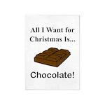 Christmas Chocolate 5'x7'Area Rug
