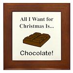 Christmas Chocolate Framed Tile