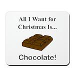 Christmas Chocolate Mousepad