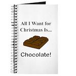 Christmas Chocolate Journal