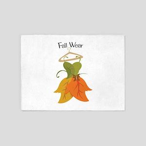 Fall Wear 5'x7'Area Rug