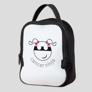 Cancer Ninja Neoprene Lunch Bag