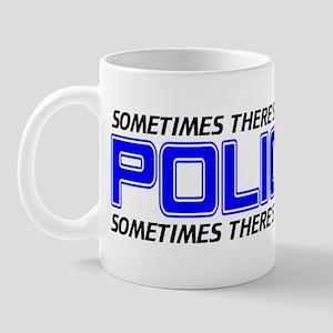 Police Justice Mug