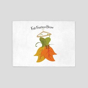 Fall Fashion Show 5'x7'Area Rug