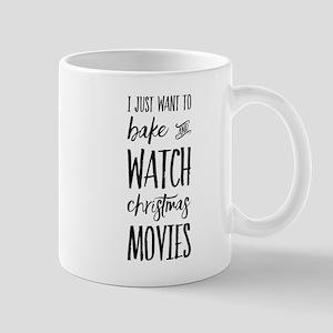 Bake and Watch Christmas Movies Mugs