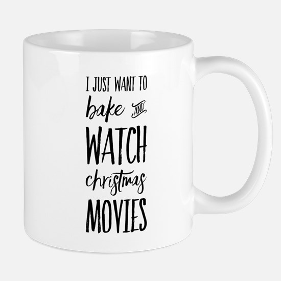 Bake and Watch Christmas Movies Mugs