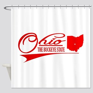 Ohio State Of Mine Shower Curtain