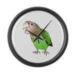 Cape Parrot 1 Large Wall Clock