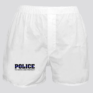 Thin Blue Line Boxer Shorts